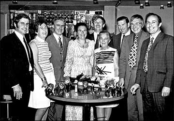 Rushden Research Group Cine Club Dinners 1970s