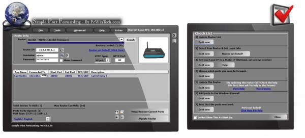 Setting Up Port Forwarding in Windows 7