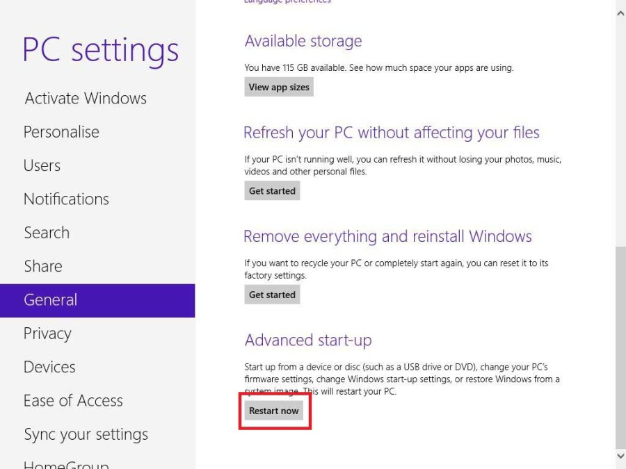 Dual Booting With Windows 8