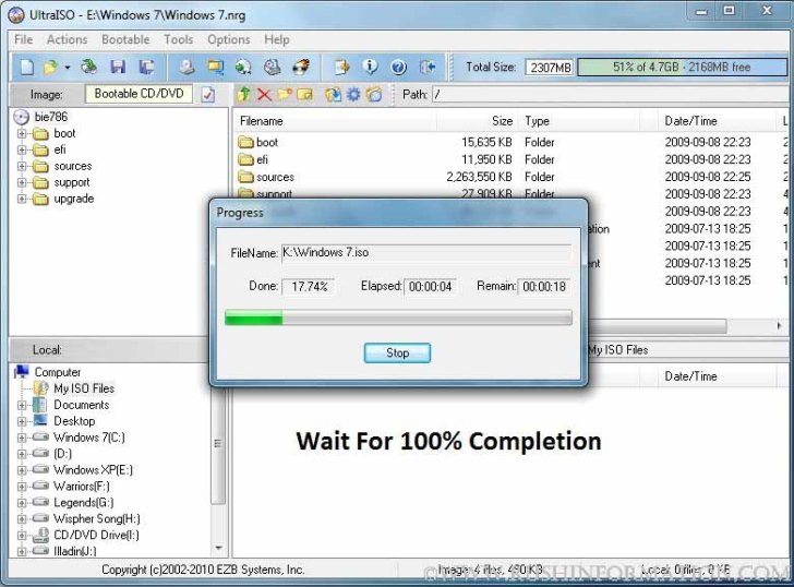 Windows 7 USB/DVD Download Tool Not Valid ISO File