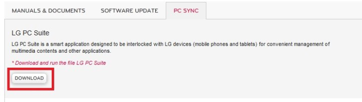 LG Mobile PC Suite FREE Download - 5