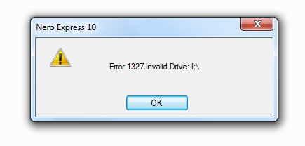 Error 1327 Invalid Drive Fix