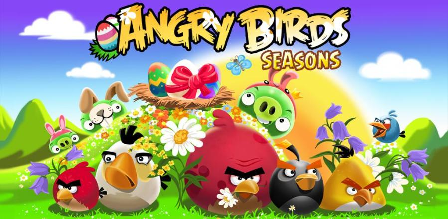 Angry Birds Seasons For Nokia Asha 305,306,308,309,311