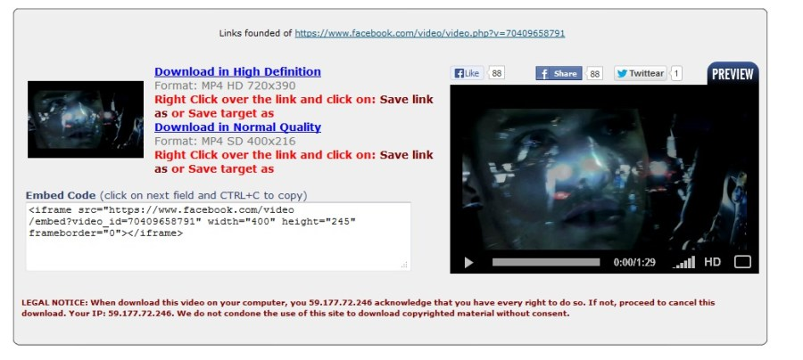 How to Download Facebook Videos on PC - Step 2