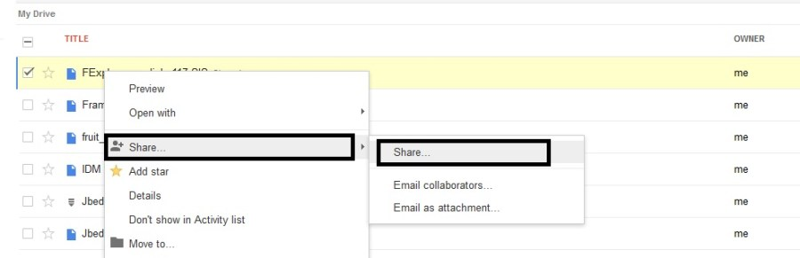 How to Share Google Drive Download Links For Uploaded Files - 2
