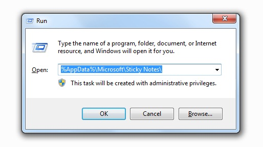 How to Backup and Restore Deleted Sticky Notes Windows 7/8