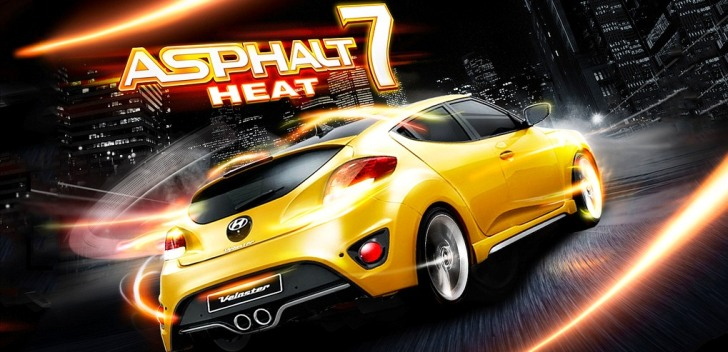 Asphalt 7 Heat for Nokia Asha 305, 306, 308, 309, 310, 311