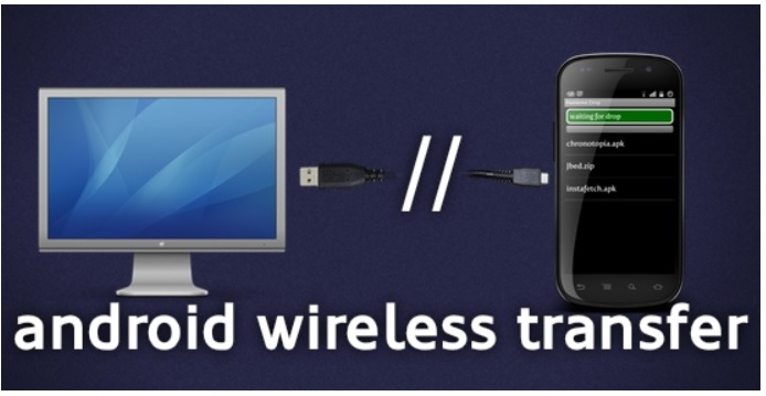 How to Transfer files from Laptop to Android via WiFi