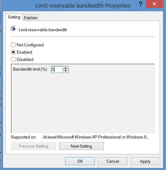 Deallocated Reserved Bandwidth - 3