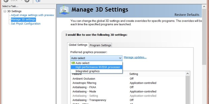 How to Switch between Intel Graphics and Nvidia - 2