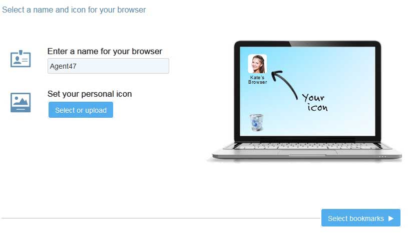 Create your own Personalized Browser Makemybrowser - 2