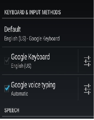 Turn off keyboard clicks - 2