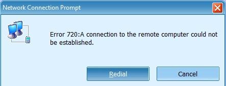 Huawei Modem Error 720