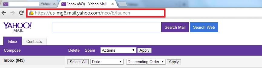 Switch Back to Basic Classic Yahoo mail - Login Yahoo mail - Change URL