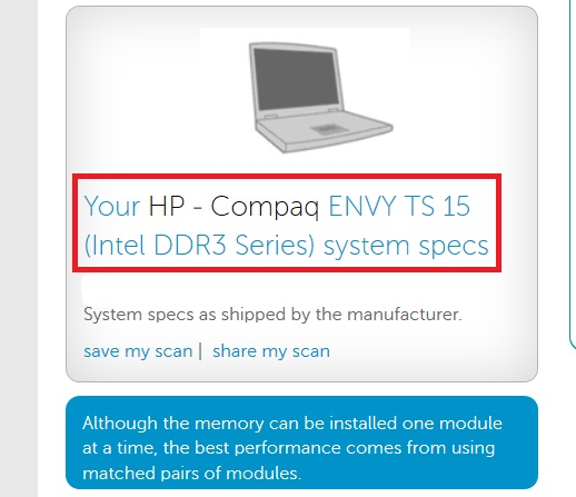 How to Check Which Ram is Installed DDR1, DDR2 or DDR3 - Crucial Online Tool
