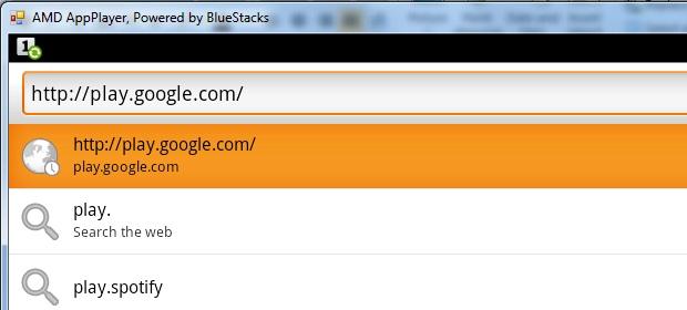 Bluestacks Market Not Found Error - 2