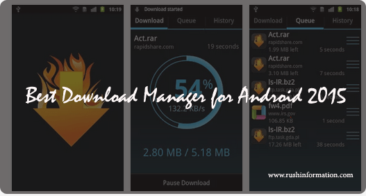 Best Download Manager for Android 2015