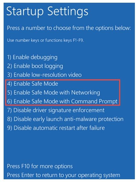 How to Boot in Safe Mode in Windows 10 - 2