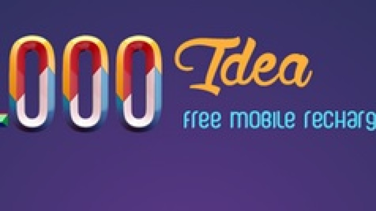 1000 Idea Free Mobile Recharge App Review : Earn Free Talk