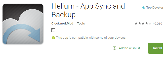 Best Android Apps to Backup and Restore Your Data Without Root - Helium App Sync and Backup