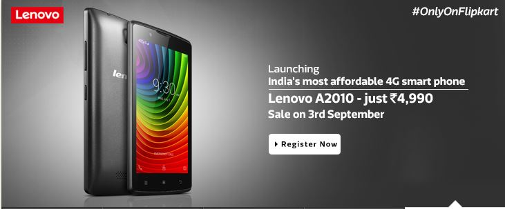 Lenovo A2010 Price and Review