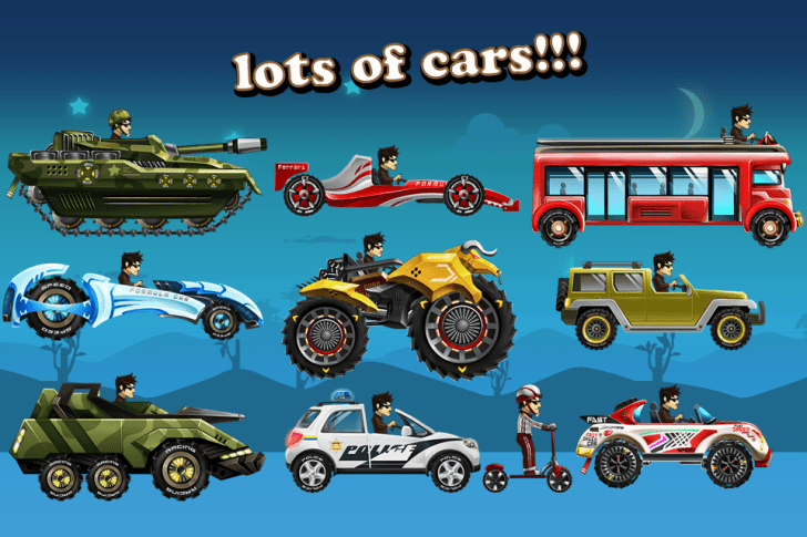 Download Up hill Racing MOD APK free for Android