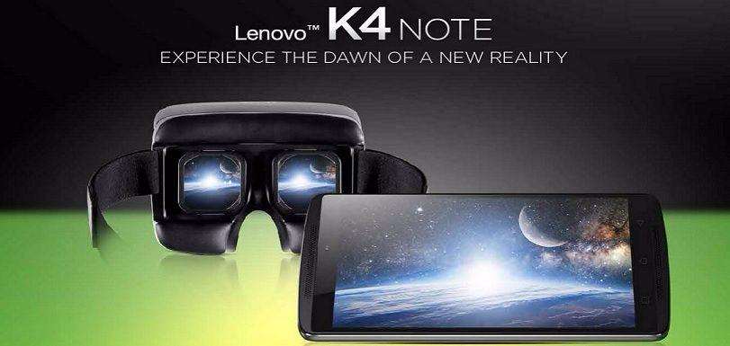 Lenovo K4 Note Common Problems