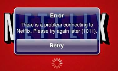 Netflix Error 1011 Fix for iPhone, iPod, iPad Air, Mini