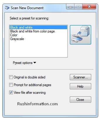 How to Install Canon ScanGear Tool