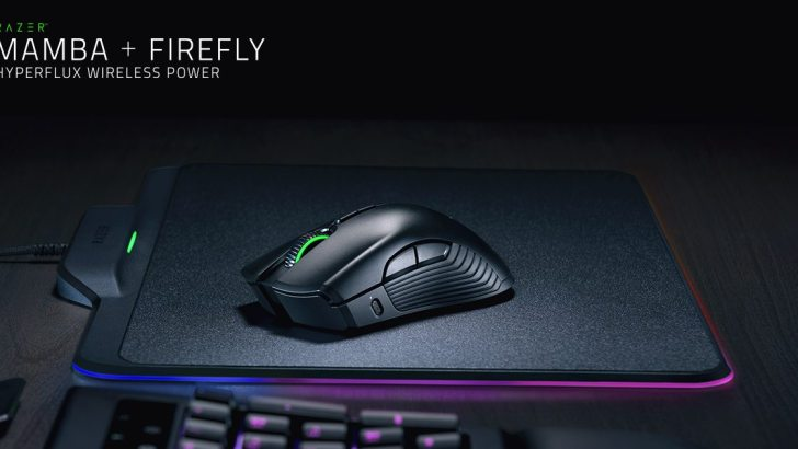 Razer Mamba HyperFlux – Lightest Wireless Gaming Mouse, No battery?