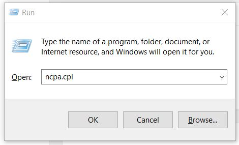 Ethernet doesn't have a valid IP Configuration Fix Windows 10/8.1/7