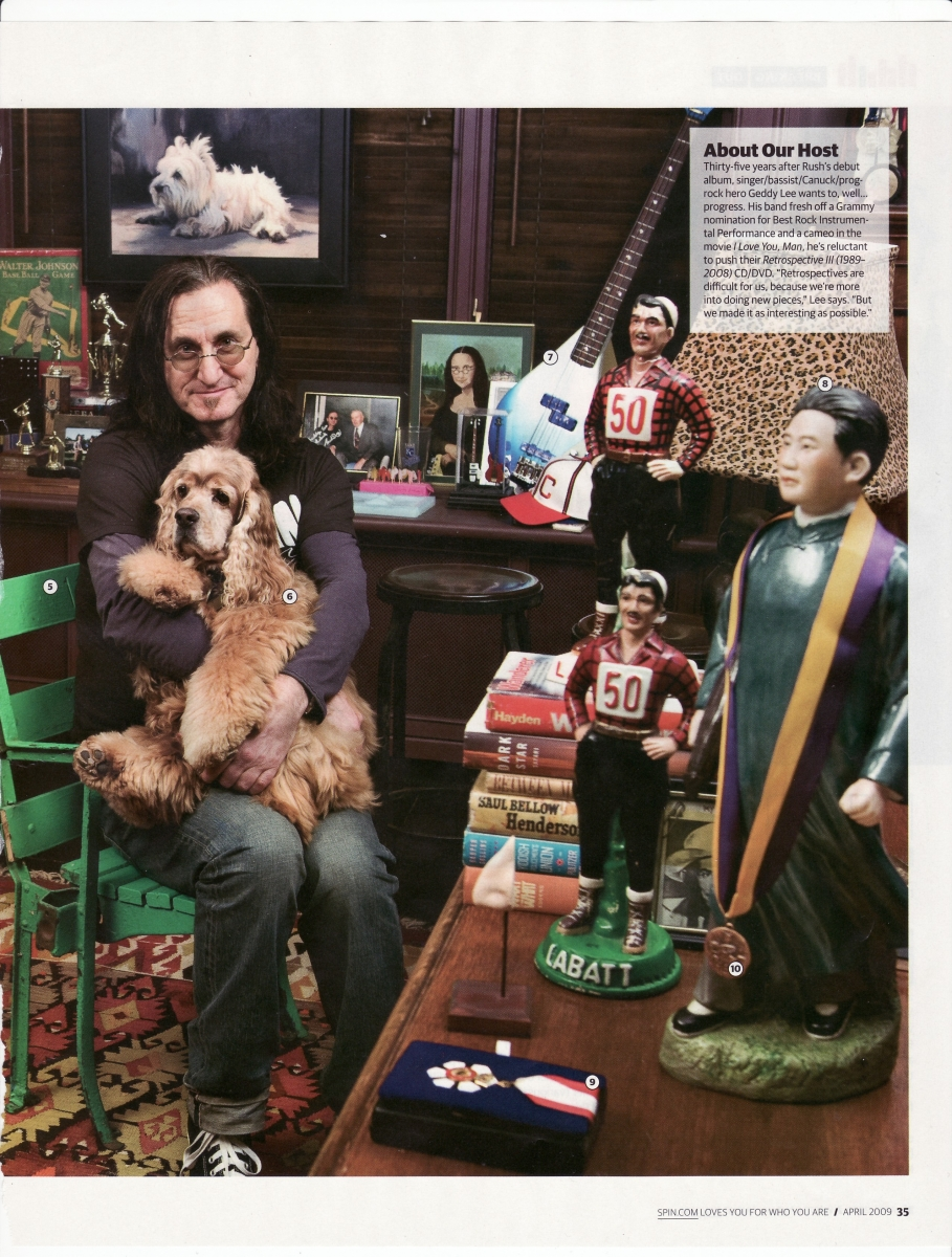 Rush is a Band Blog Geddy Lee Spin magazine feature