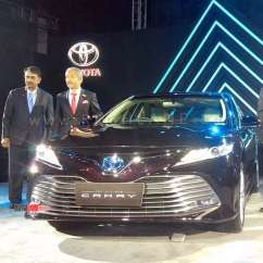 All New Camry India Launch Toyota Kijang Innova 2017 2019 Hybrid Price Rs 36 95 Lakhs