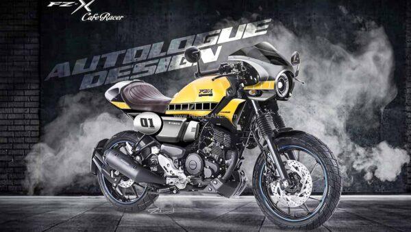 Yamaha FZ-X कस्टम कैफे रेसर