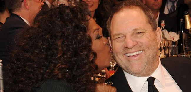 Image result for pic of oprah and weinstein