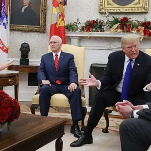 Trump Pounces on Chuck and Nancy in the Oval Office