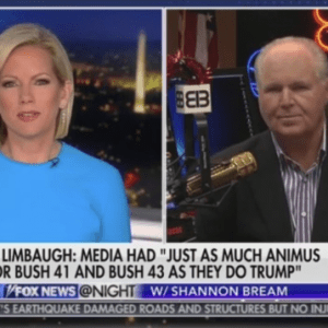 Rush on Fox News @ Night with Shannon Bream