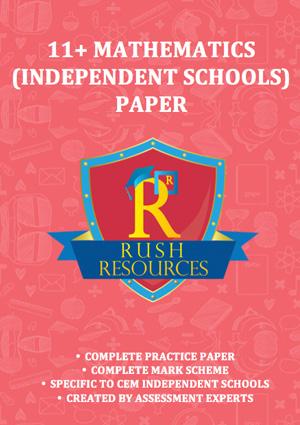 11+ mathematics paper