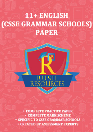11+ csse english grammar paper
