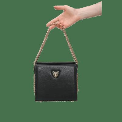 Black MiniB leather bag