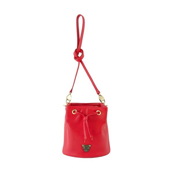 City Bucket - Red Bucket Bag