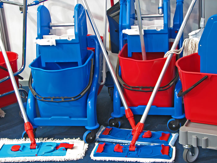 Janitorial Supplies for Plants, Stores, and Offices