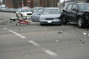riverside auto accident attorneys glass on ground car accident