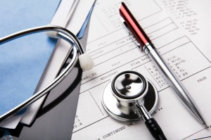 personal injury attorney in orange county  Medical Records & Stethoscope