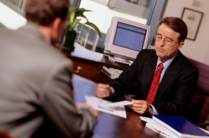 Orange County Motorcycle Accident Attorneys - Meeting with Attorney