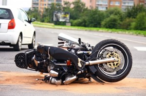 Orange County Injury Attorney - fallen over motorcycle