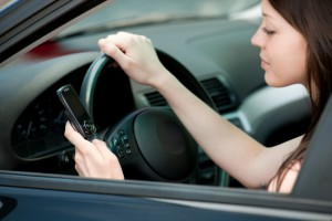 California Motor Vehicle Accident Attorney - Texting and driving