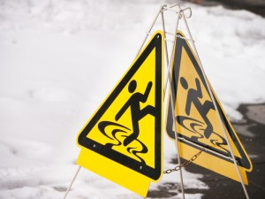 Slip and Fall Accidents Sign