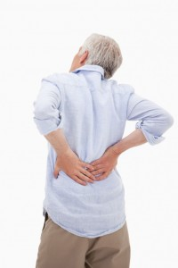 Orange County slip and fall attorney - man with back pain