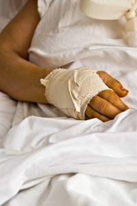 Orange County Dog Bite Attorney - injured hand